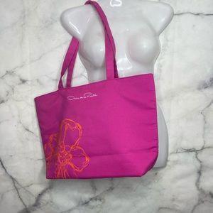 🚨3/$30🚨 Oscar De La Renta Hot Pink Shoulder Bag